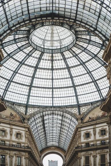 Galleria Vittorio Emanuele II towards Martini